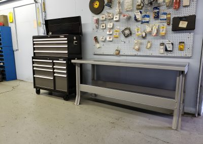 Steel Shop Tables